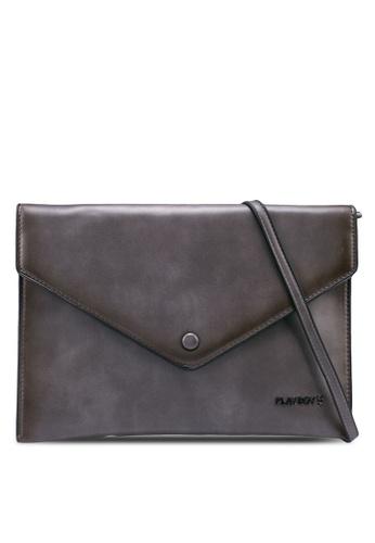 Playboy black Clutch Bag 493F3AC2112337GS_1