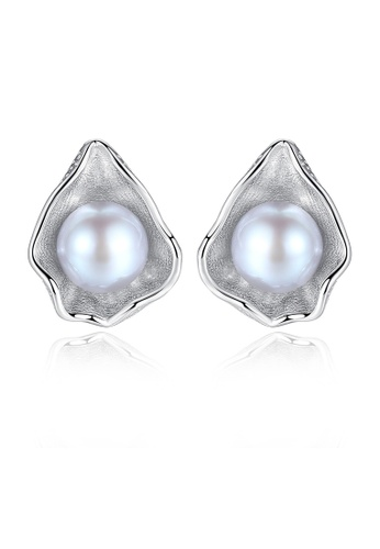 SUNRAIS silver High-grade colored stone silver fashion earrings 004D9ACB742B96GS_1