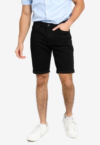 Hollister black Denim Clean Shorts ECEFCAAFDCE216GS_1