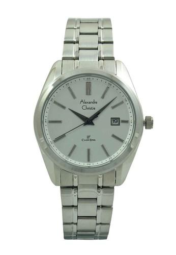 Alexandre Christie silver Alexandre Christie Jam Tangan Wanita - Silver White - Stainless Steel - 8514 LDBSSSL C842CACE14E09FGS_1