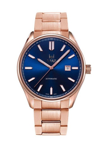 Wulf blue Wulf Apha-X Rose Gold with Blue Dial Watch 29663ACE41BF0CGS_1