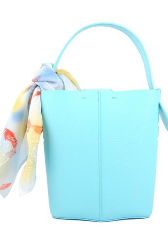 RO Bags blue RO Terranova Felucca Mini Top Handle Bucket Bag in Aqua/Mint A7AEEACB508C36GS_1