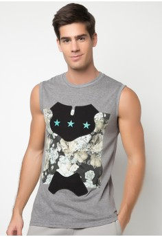 Men's Printed Muscle Shirt