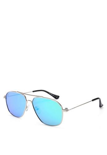 Privé Revaux silver The Marquise Sunglasses PR660GL0RC44MY_1