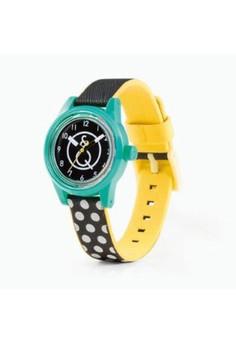 harga Q&Q - Jam Tangan Wanita - Multicolour - Material Resin - Smile Solar Mini RP01J001Y Zalora.co.id
