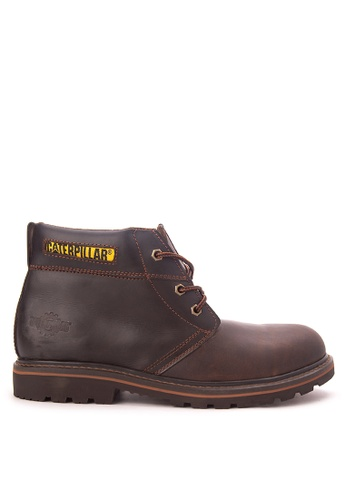 Caterpillar brown Chukka Boots CA367SH71HYEPH_1