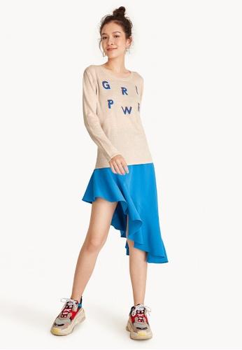 Pomelo beige GRLPWR Soft Sweater  - Cream 4CBDEAA69F7A80GS_1