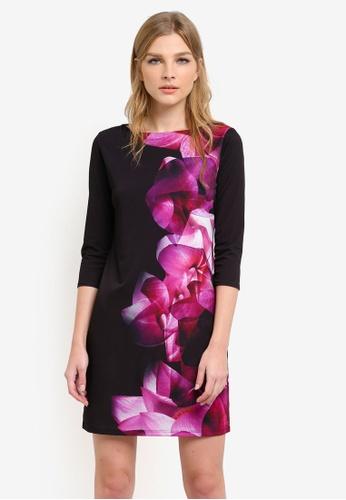 Wallis pink Pink Abstract Floral Print Tunic Dress WA800AA0S6TAMY_1