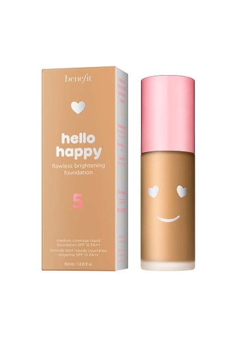 Benefit beige Hello Happy Flawless Brightening Foundation Shade 05 1ED1EBE4423A0BGS_1