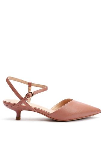 Twenty Eight Shoes 尖頭皮革中踭鞋395-9 01B21SHD61D8AFGS_1