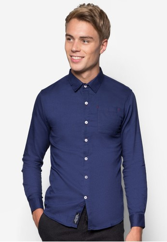 素esprit hk分店色長袖襯衫, 服飾, 服飾