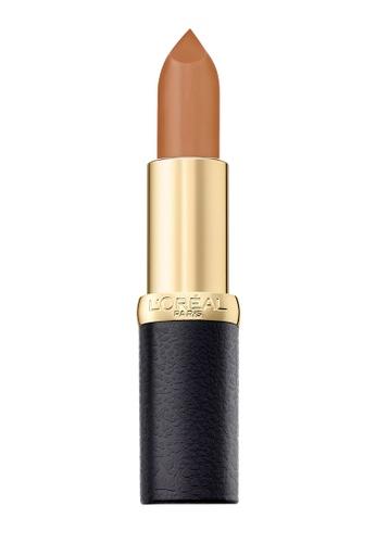 L'Oréal Paris red and beige L'Oreal Paris Color Riche Matte 243 Sweet Liquer CD2F3BE2EF0868GS_1
