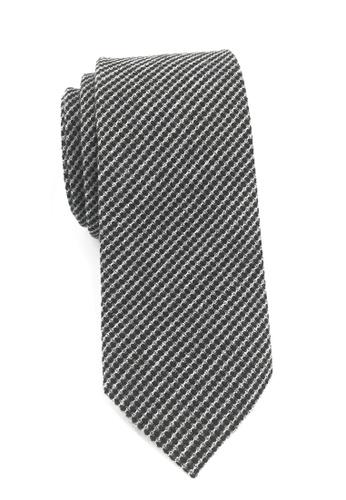 Splice Cufflinks Goober Series Gunmetal Grey Cotton Tie SP744AC69KXUSG_1