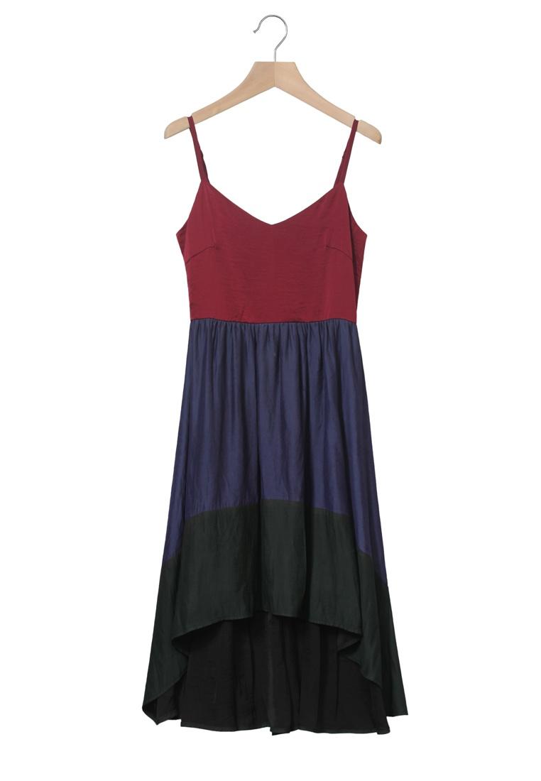 Dress Dress Kodz Waterfall Red Dress Waterfall Colourblock Red Colourblock Kodz Colourblock Kodz Waterfall Red TqE0fT6w