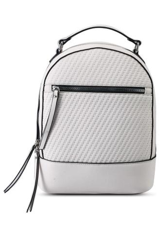 Keddo white Rorin Backpack 6320DAC2F5CACBGS_1