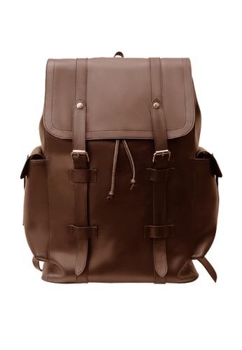 Garut Kulit brown Valin Backpack 3DABFACF5763B7GS_1