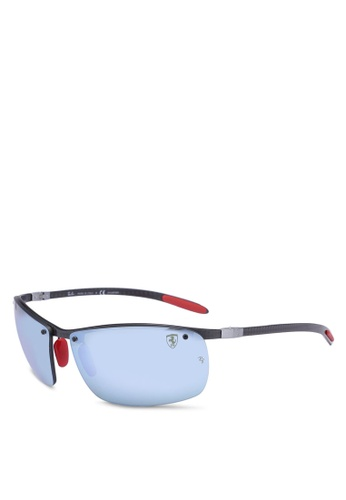 5e8d6ebd8c51c6 Ray-Ban black Ray-Ban Scuderia Ferrari Collection RB8305M Sunglasses  61F33GLB115274GS 1