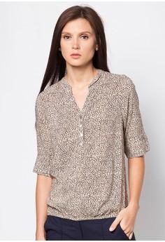 Elza Quarter Sleeves Top