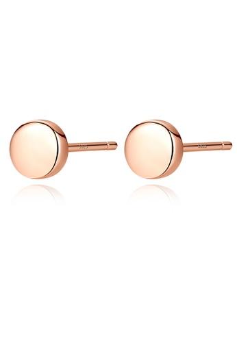 SUNRAIS gold Premium Silver S925 gold hypoallergenic earrings 59544ACAFC64B2GS_1