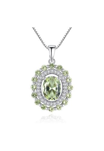 SUNRAIS silver Premium Silver S925 Silver Fashion Necklace DD048AC113AA8FGS_1