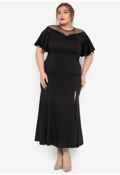 fbf6a90f22 Get Laud Plus black Onah Plus Size Maxi Dress 9A324AA6F2EF2CGS_1