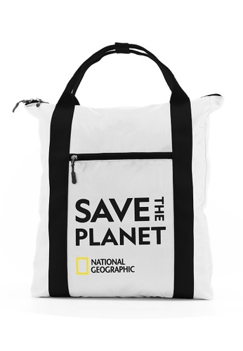 National Geographic white National Geographic Jupiter Shopper Backpack White BB1ADAC42C9EA1GS_1
