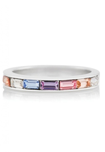 Olivia Burton silver Olivia Burton Rainbow SILVER Fixed Ring (OBJRBR01B) 98BBCAC935BD5BGS_1