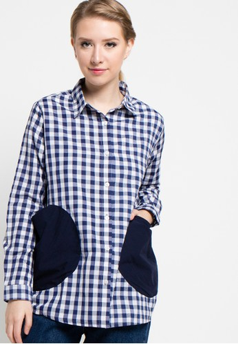 MONDAY TO SUNDAY navy Minnie Shirt MO145AA72UJZID_1