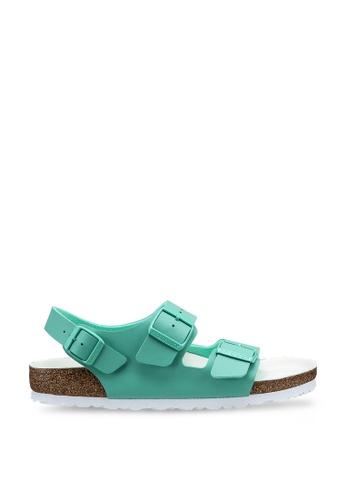 Birkenstock 綠色 Milano BF Icons Reinterpreted 涼鞋 80F6BSH47D972DGS_1