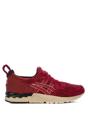 ASICSTIGER red GEL-Lyte V Sneakers F6591SHE1E5908GS_1