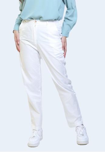 Hardware white HARDWARE BAGGY PANTS 318ABAAFE3AF4AGS_1