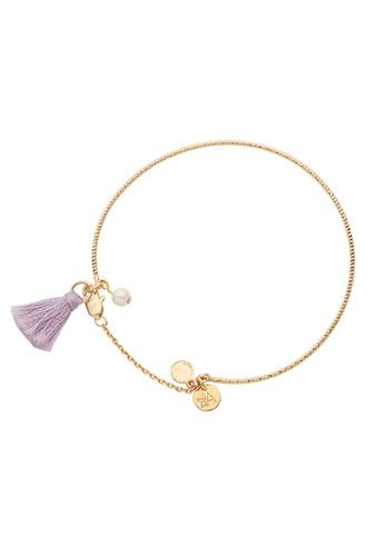 Dear Addison gold Lavender Dreaming Bangle 7E45AAC8AC0DDCGS_1