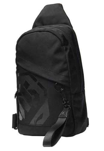 Li-Ning black LI-NING BADFIVE SHOULDER BAG - BLACK FD5B7AC3C0FF18GS_1