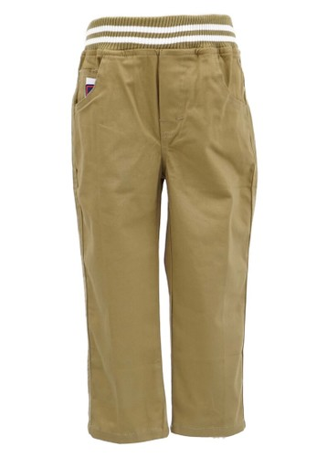 YEGE brown YeGe Celana Anak Junior Coklat Panjang 3919BKA31A0469GS_1