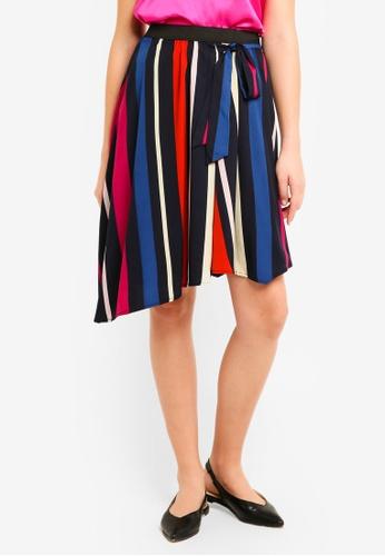 Vero Moda multi Victoria Asymmetric Skirt F6EAFAAB011121GS_1
