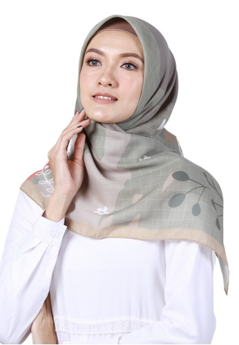 Wandakiah.id green Wandakiah, Voal Scarf Hijab - WDK17.03 F9907AA8570298GS_1