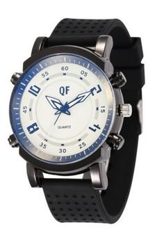 QF Men's Silicone Strap Watch (1063W)
