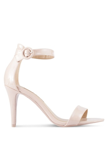 Dorothy Perkins beige Nude Bounce Heeled Sandals FE361SH98F79F6GS_1
