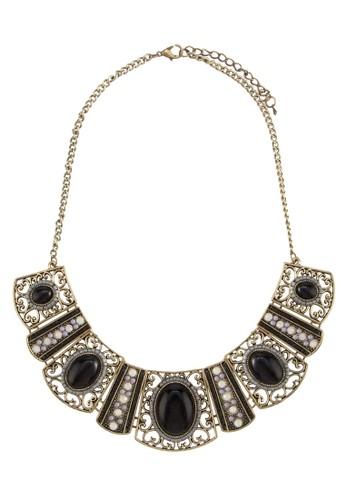 民族風花絲珠寶牌飾項鍊, 飾品配件,esprit 見工 項鍊