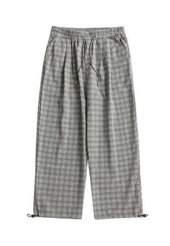 Twenty Eight Shoes Loose Straight Plaid Trousers 3316W20 D6361AAFE427DBGS_1