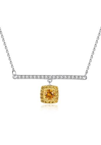 SUNRAIS silver Premium Silver S925 Silver Fashion Necklace 23442ACA98B21EGS_1