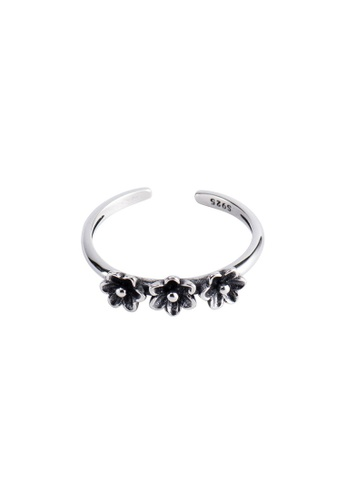 A-Excellence silver Premium S925 Sliver Flower Ring 1BBCFAC05CBBBBGS_1