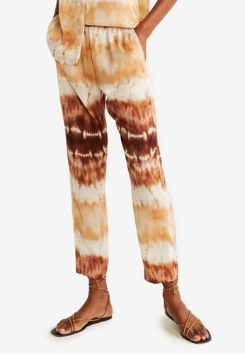 aaa70b9b Buy Mango Belt Straight-Fit Trousers | ZALORA HK