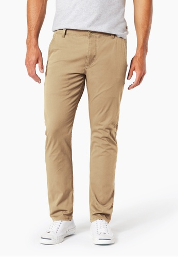 Dockers brown Dockers Alpha Khaki 360 Skinny Pants New British Khaki 29A52AAED1AA17GS_1