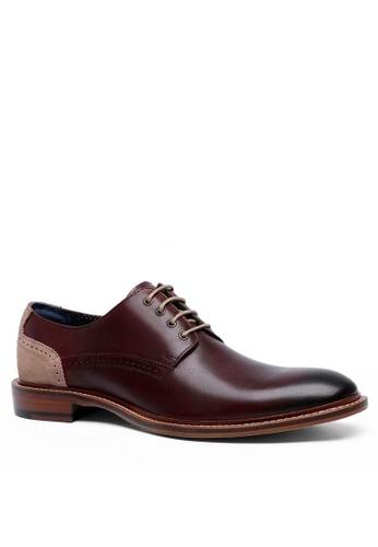 Twenty Eight Shoes 真皮復古英倫牛津鞋MC332 877D2SH059C43EGS_1