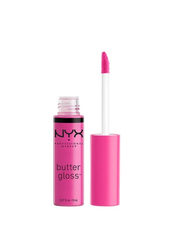 NYX Professional Makeup pink NYX Professional Makeup Butter Gloss - SUGAR COOKIE 60984BE1B25FC1GS_1