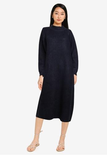 niko and ... blue Casual Knit Dress 5B22DAA2B667AEGS_1