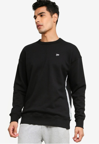 PUMA black Prime Downtown Crew Sweater 380EDAA68EF37DGS_1