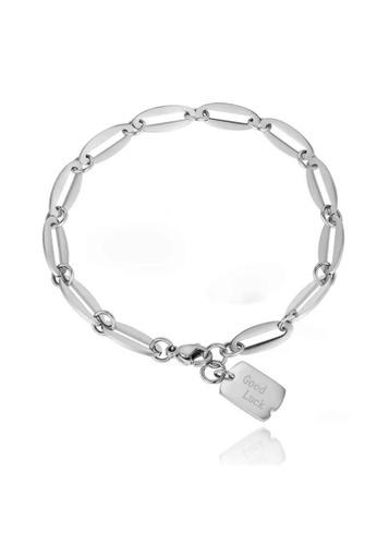 "CELOVIS silver CELOVIS - Juno ""GoodLuck"" Pendant Bracelet in Silver D2297AC4A8AD23GS_1"