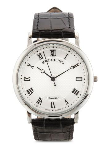 Stuhrling Original 645.01 Classique 真皮esprit 特賣手錶, 錶類, 飾品配件